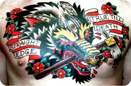 Straight Edge wolf by Paul Nycz