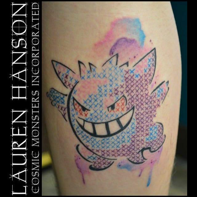 Geeks also love cross-stitching... By Lauren Hanson.