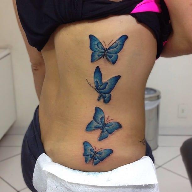 So light so pure... By Fernando Shimizu.  #Butterfly #ButterflyTattoo