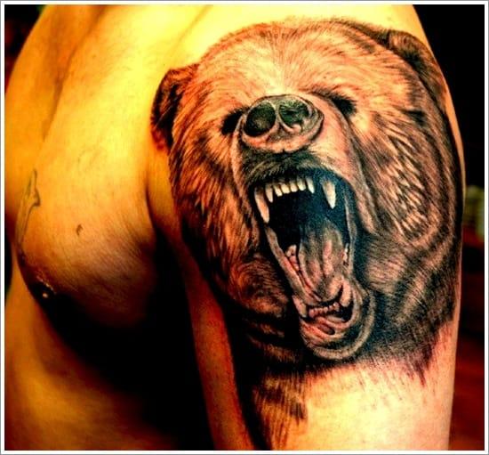 17 Poderosas Tatuagens de Ursos!