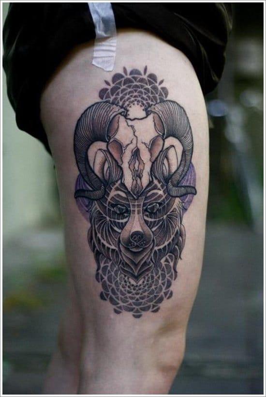 Incrível tatuagem mesclando pontilhismo e mandalas (Sabe o nome do artista? Conte para a gente nos comentários)