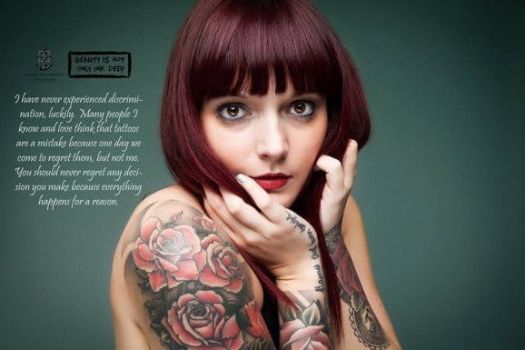 Beauty Is Not Only Ink Deep project