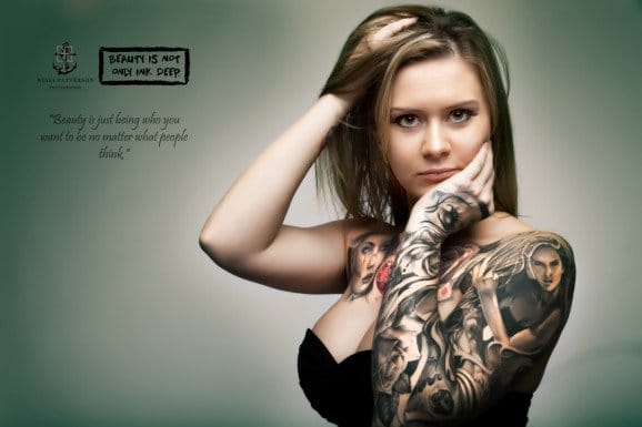 Tattooed photography by Nyall Patterson