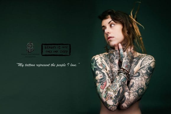 Tattooed photography