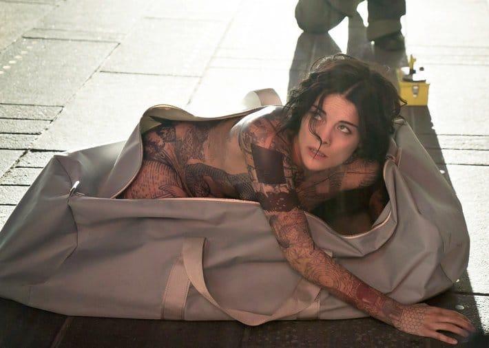 Jaimie Alexander is a Nude, Tattooed, Amnesiac in TV's 'Blindspot'