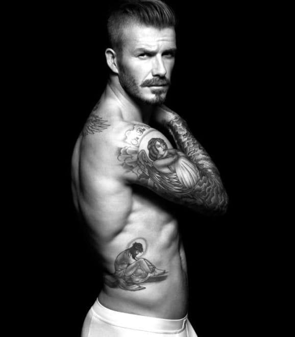 David Beckham: The Tattoo Addicted Top Player