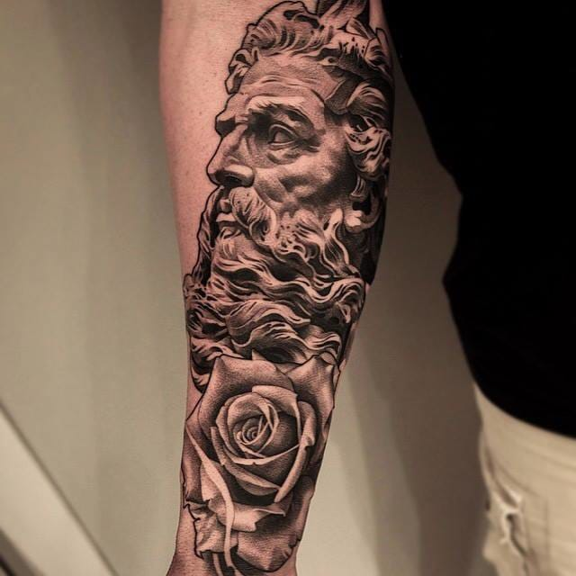 Another piece by Lilb Tattoo.