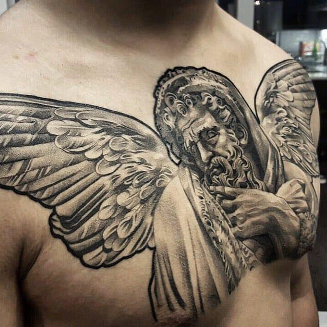 18 Impressive Classic Statue Tattoos | Tattoodo