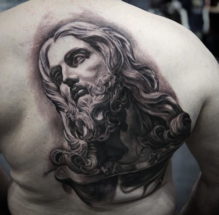 Awesome piece by Stefano Alcantara inspired by a statue of Bernini.