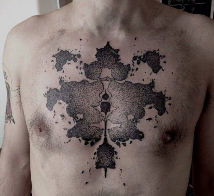Check Your Sanity With These Rorschach Test Tattoos!
