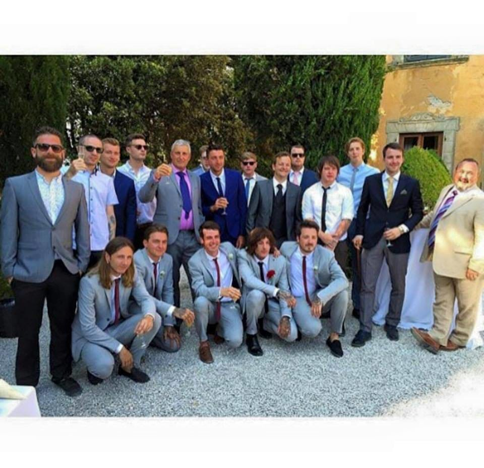 The Sykes wedding