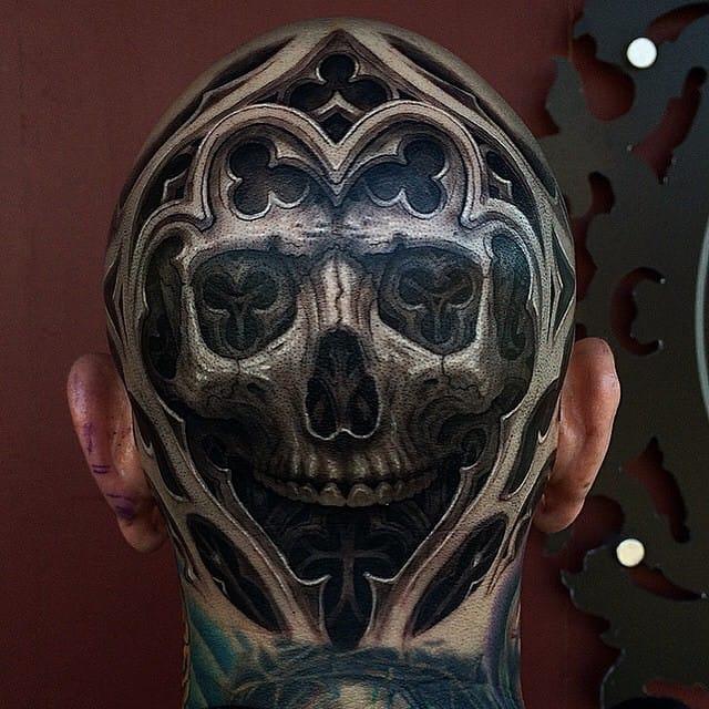 16 Mind-Blowing Stonework Tattoos