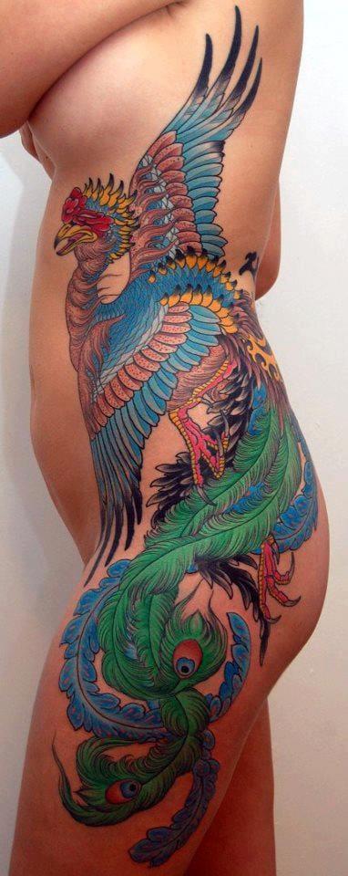 3. Phoenix Tattoos.