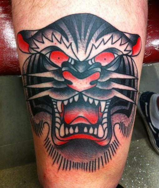 Goblet Tattoo On Forearm By Joe Ellis: 14 Magnificent White Tiger Tattoos
