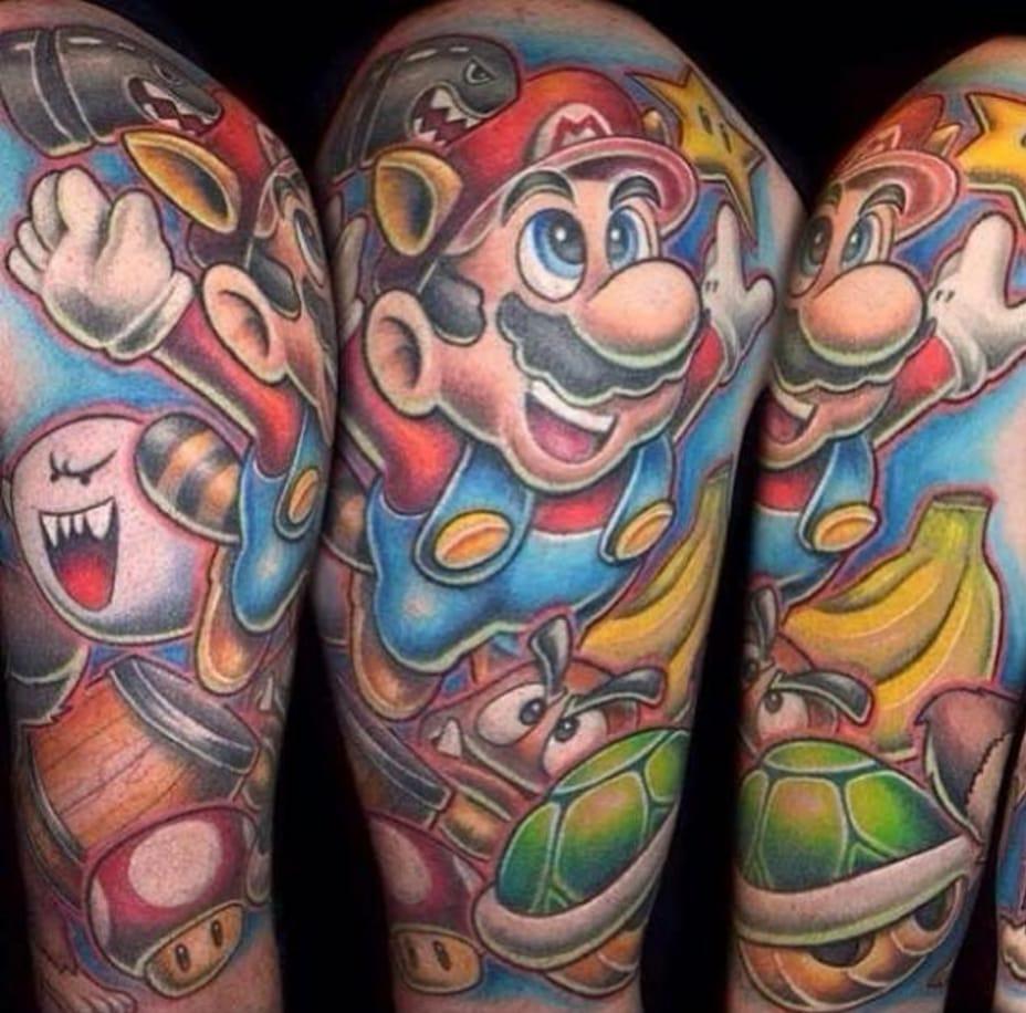 25 Geekiest Gamer Tattoos