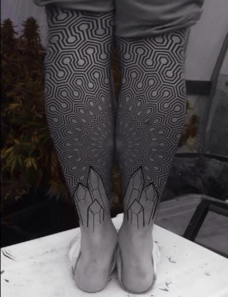 Geometric Tattoo by Corey Divine
