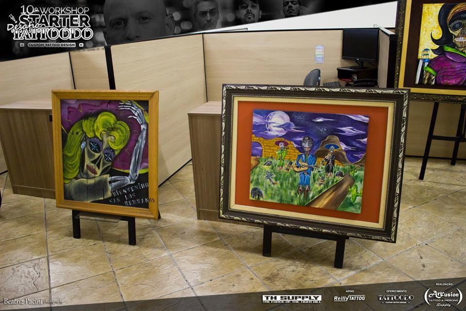 Lindos quadros, obras de arte cheias de atitude e personalidade