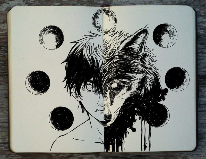 Gabriel Picolo Werewolf