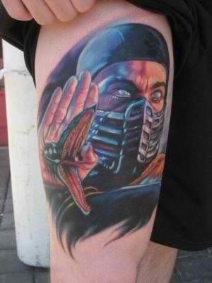 Scorpion. One of my favorite Mortal Kombat characters.