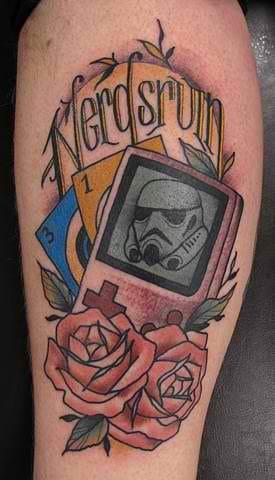 Indeed. ;) Tattoo by Heath Nock, Syndey Tattoo Studio.