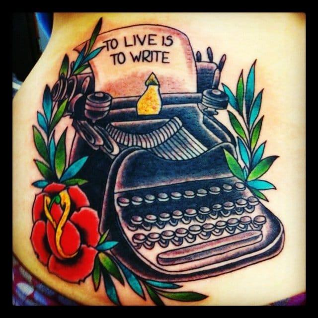 Live to write