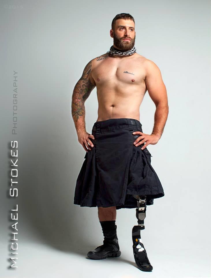 Tattooed War Veteran