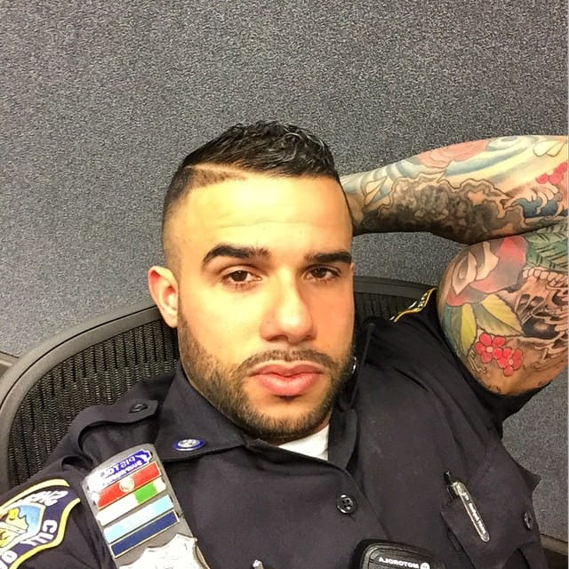 You're Gonna Want This Tattooed NYC Cop to Arrest You