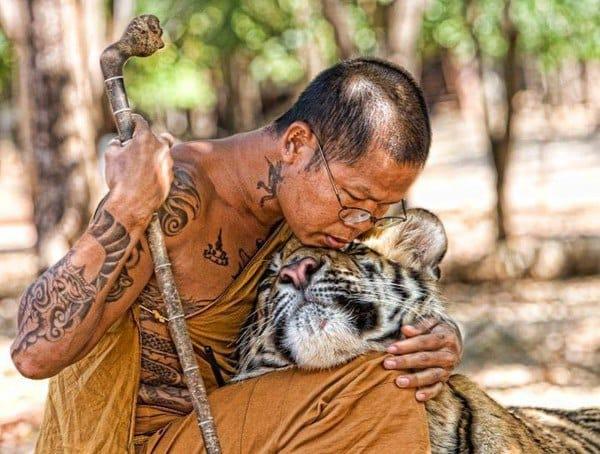 Meet Thailand's Badass Tattooed Monks
