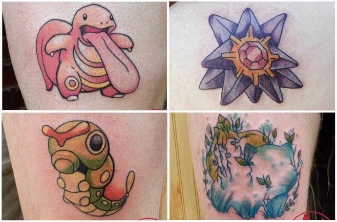 A Tattoo Artist Is Aiming To Tattoo The 151 Original Pokemon