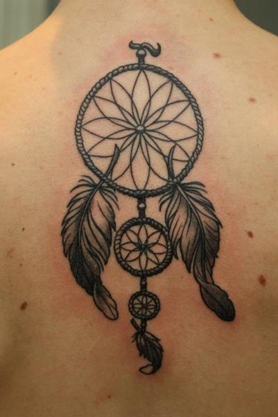 Great piece by Dimitri Tattoo #dreamcatcher