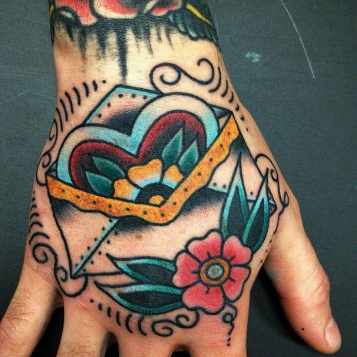 Awesome hand tattoo