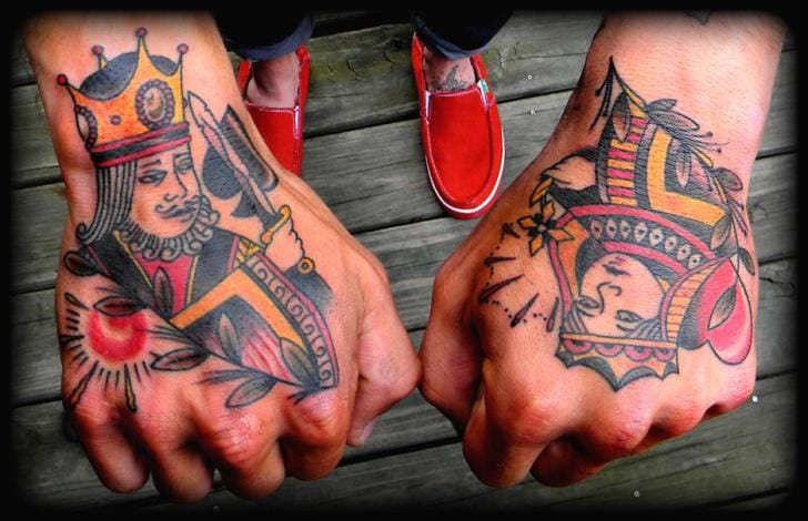 King and Queen Tattoo by High Street Tattoo