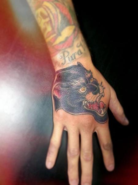 Panther Tattoo by Tattoo Loyalty