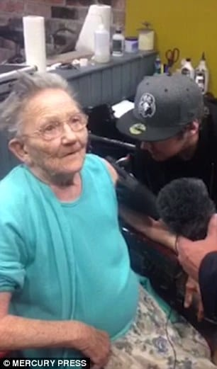 Great-Grandmother Disappears From Care Home To Get Tattooed!