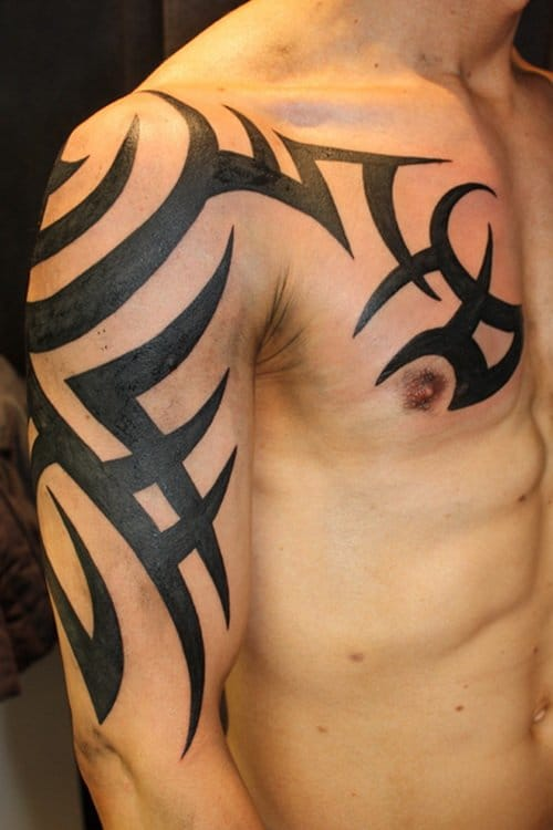 A tribal tattoo with no meaning