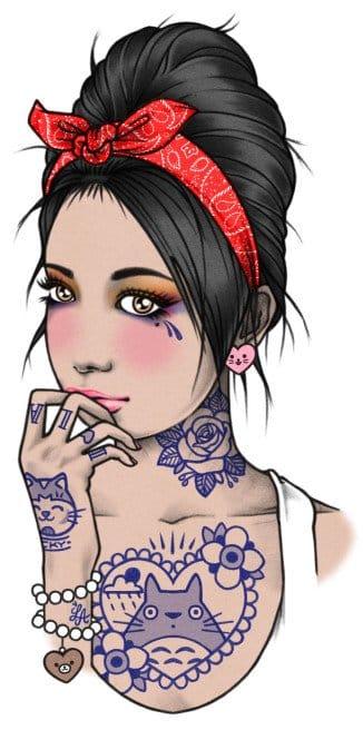Drawing by Rik Lee