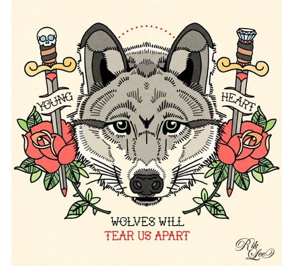Wolves will tear us apart