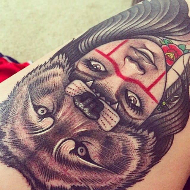 Tattoo by Carl dela Riva