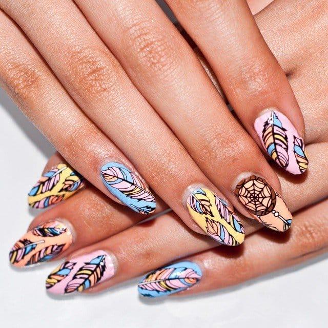 Tattooed nails