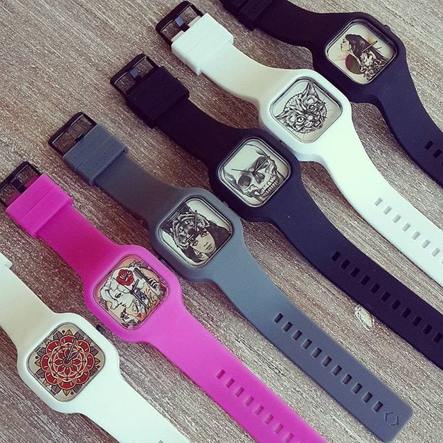 Watches with tattoo design