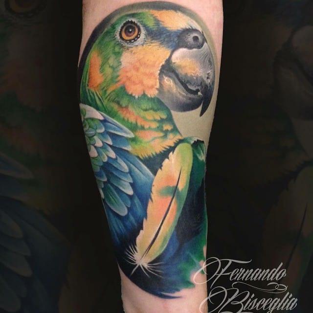 Badass tattoo by Fernando Bisceglia...