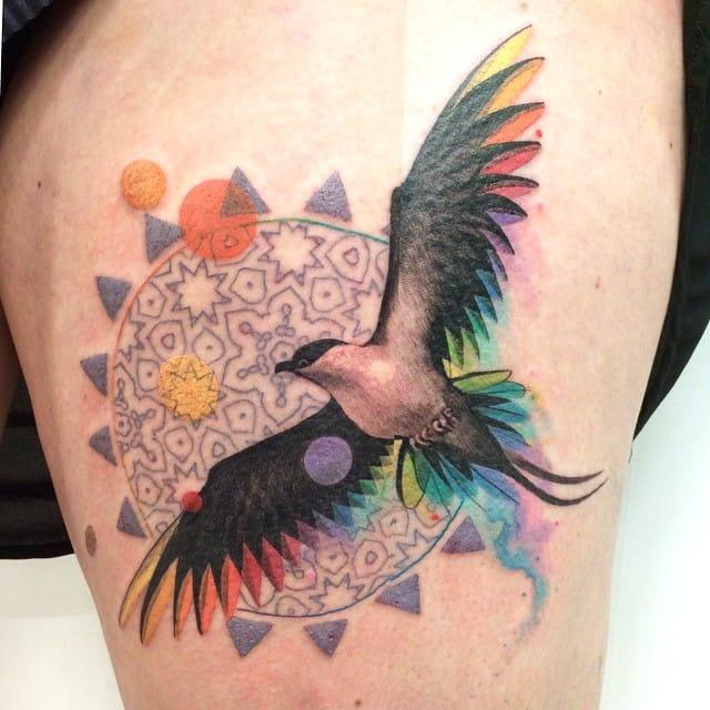 Amazing tattoo by Amanda Chanfreau!