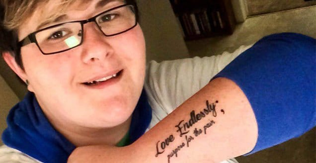 Amy Bleuel, founder of Project Semicolon