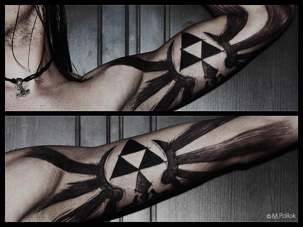 by Needlefak Tattooing Hamburg