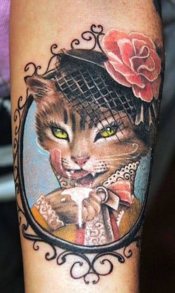 Kitty gets dapper by Semyon Seredin.