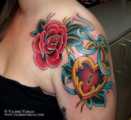 4. Locket Tattoos.