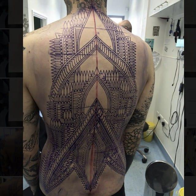 Mandala & Geometric Pattern Work: Kieran Williams