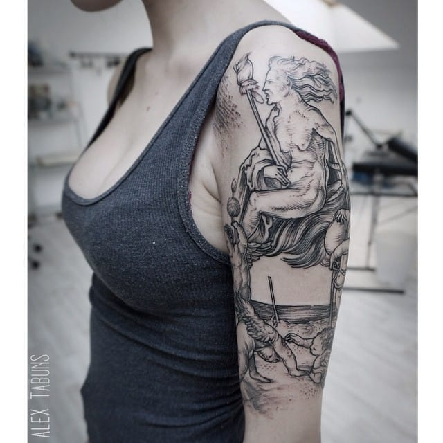 Tattoo by Alexandra Tabuns