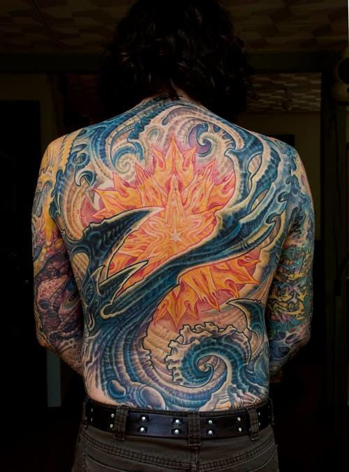 Indeed, the ultimate bio organic tattoo artist is Guy Aitchison...