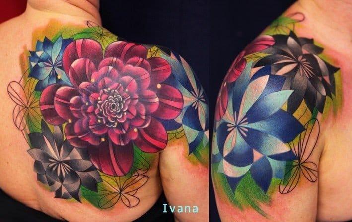 Tattoo Artist Spotlight: Edgy & Abstract Tattoos Of Ivana Belakova
